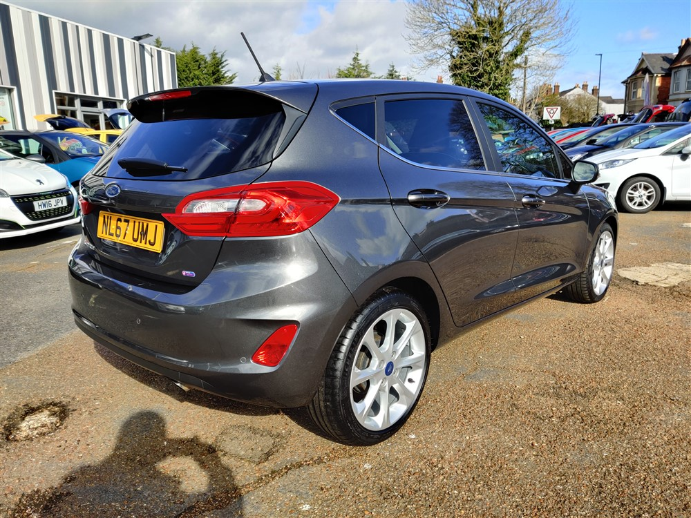 Car For Sale Ford Fiesta - NL67UMJ Sixers Group Image #2