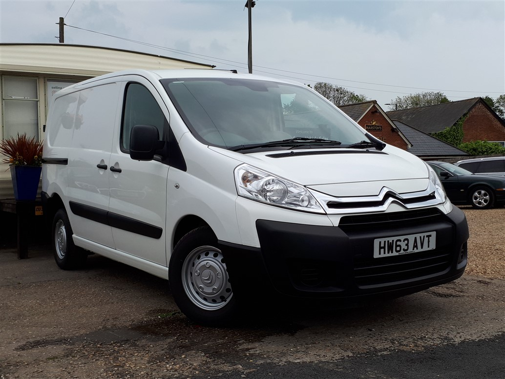 Image of Citroen Dispatch Used Car For Sale on the Isle of Wight for Vehicle 7259