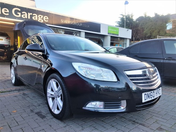 Image of Vauxhall Insignia Used Car For Sale on the Isle of Wight for Vehicle 7260