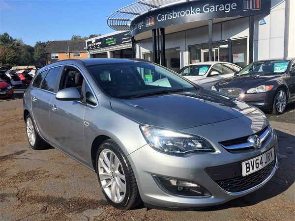 Image of Vauxhall Astra Sports Tourer Used Car For Sale on the Isle of Wight for Vehicle 7263