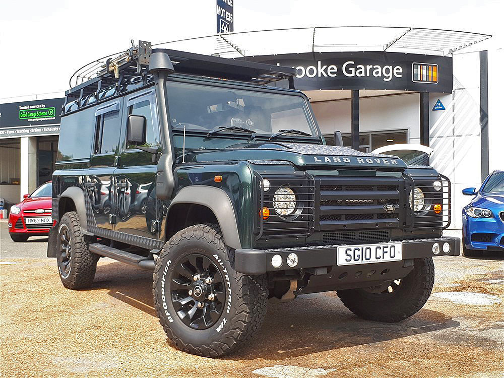 Used Car Land Rover Defender 110 For Sale On The Isle Of Wight Reg Sg10cfo Sixers Group