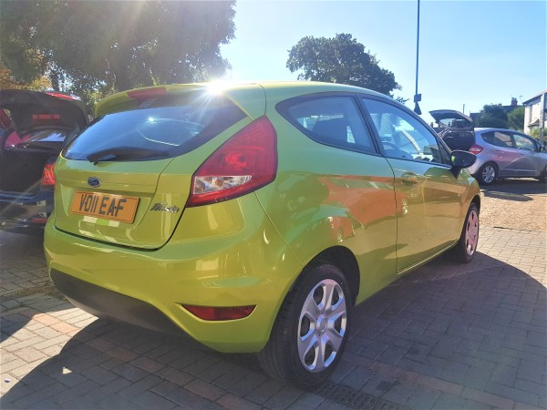 Image of Ford Fiesta Used Car For Sale on the Isle of Wight for Vehicle 7280