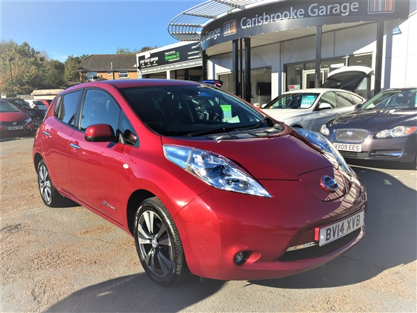 Image of Nissan Leaf Used Car For Sale on the Isle of Wight for Vehicle 7294