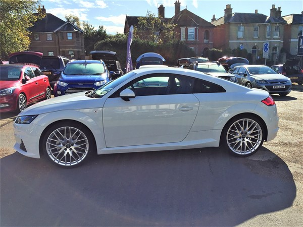 Image of Audi TT Used Car For Sale on the Isle of Wight for Vehicle 7295