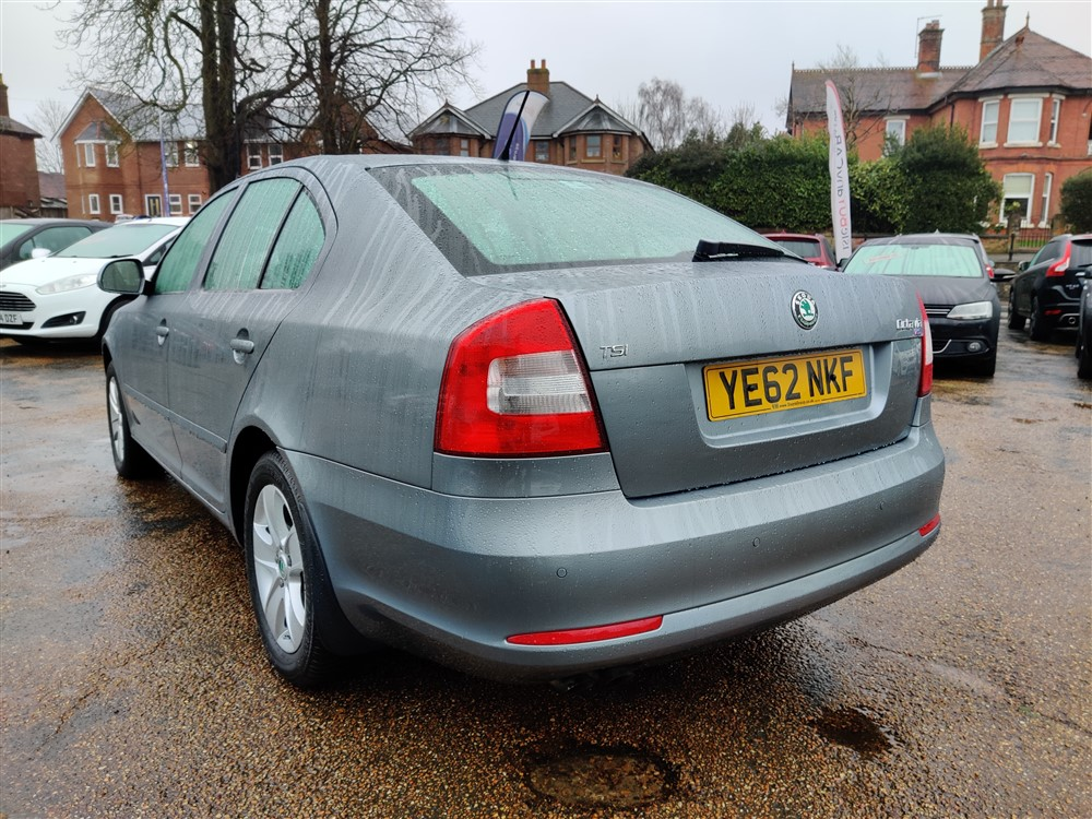 Car For Sale Skoda Octavia - YE62NKF Sixers Group Image #4