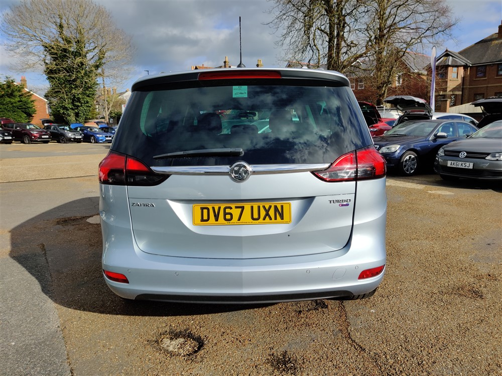 Image of Vauxhall Zafira Used Car For Sale on the Isle of Wight for Vehicle 7302