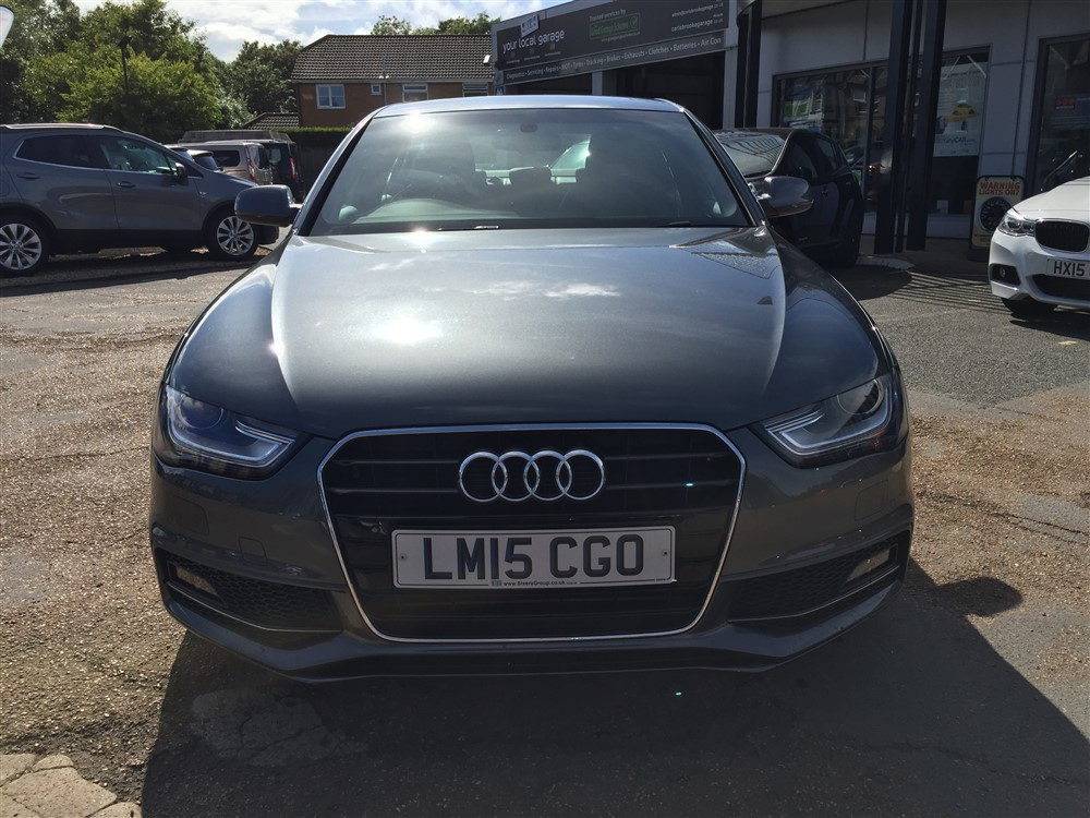 Image of Audi A4 Used Car For Sale on the Isle of Wight for Vehicle 7305