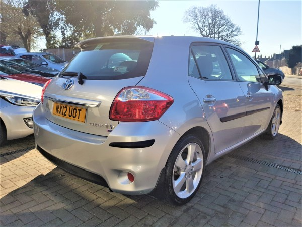 Image of Toyota Auris Used Car For Sale on the Isle of Wight for Vehicle 7307
