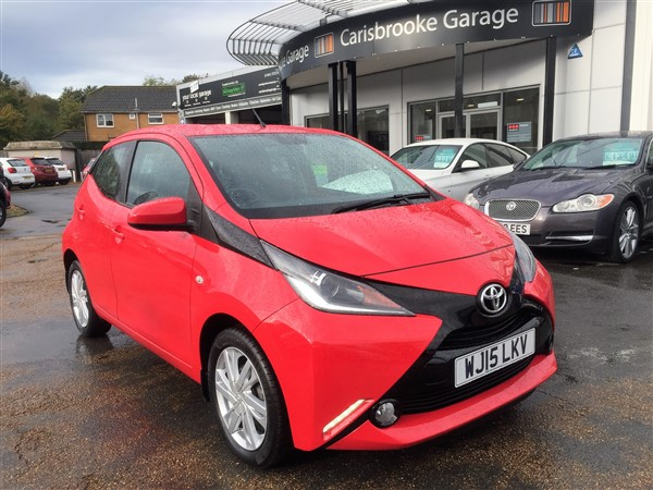 Image of Toyota Aygo Used Car For Sale on the Isle of Wight for Vehicle 7309