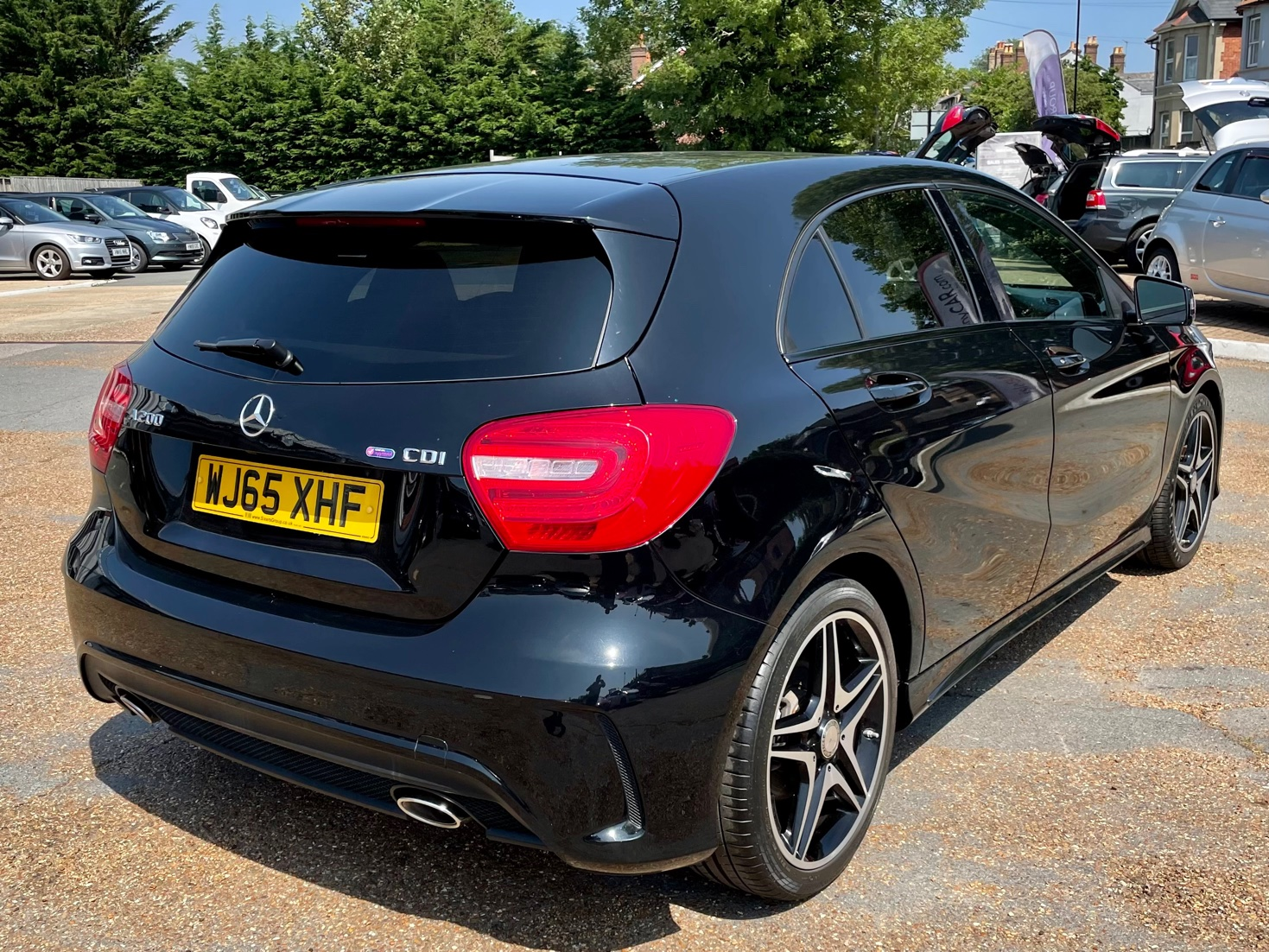 Car For Sale Mercedes A Class - WJ65XHF Sixers Group Image #2