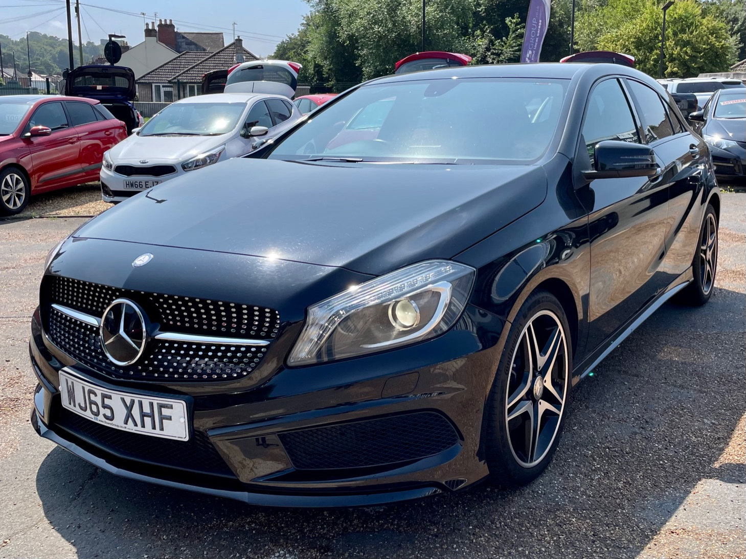 Car For Sale Mercedes A Class - WJ65XHF Sixers Group Image #5