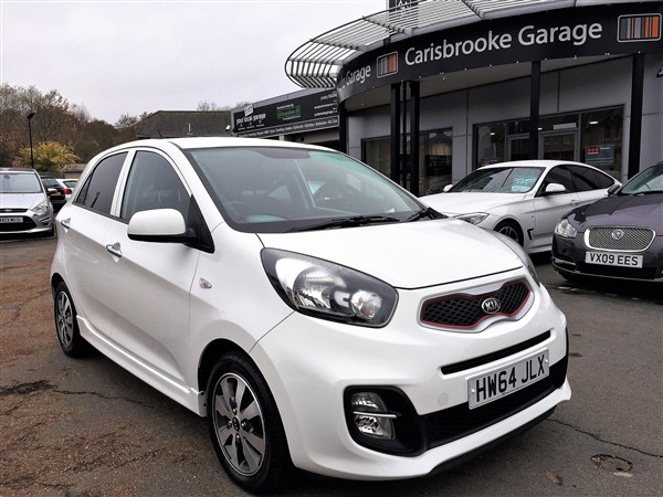 Image of Kia Picanto Used Car For Sale on the Isle of Wight for Vehicle 7327