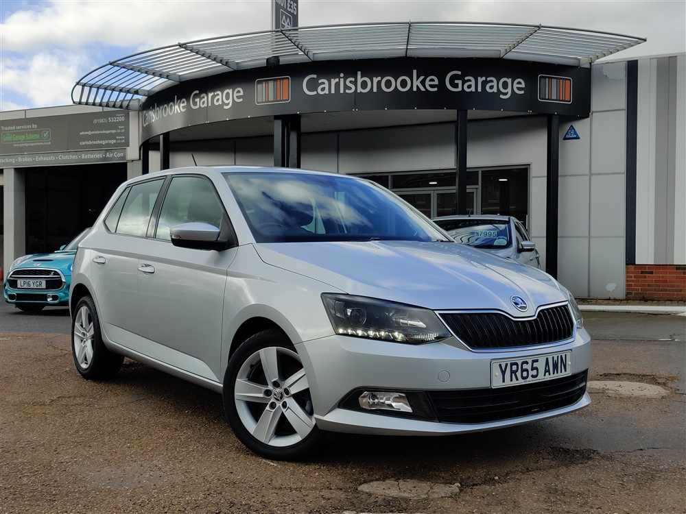 Image of Skoda Fabia Used Car For Sale on the Isle of Wight for Vehicle 7334