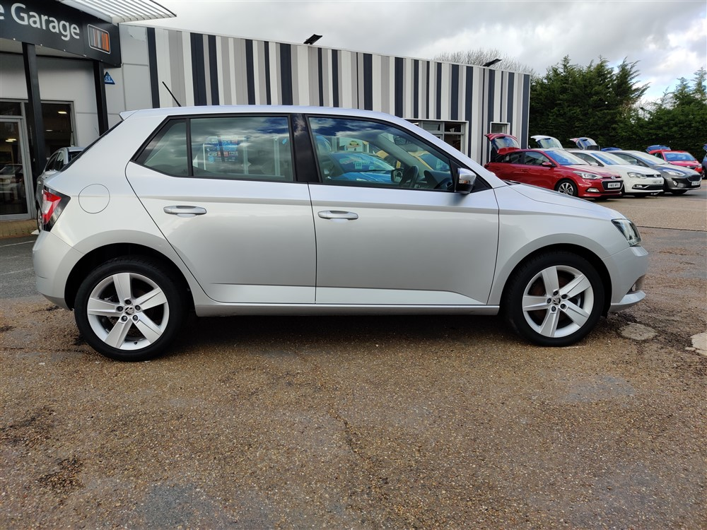 Car For Sale Skoda Fabia - YR65AWN Sixers Group Image #1