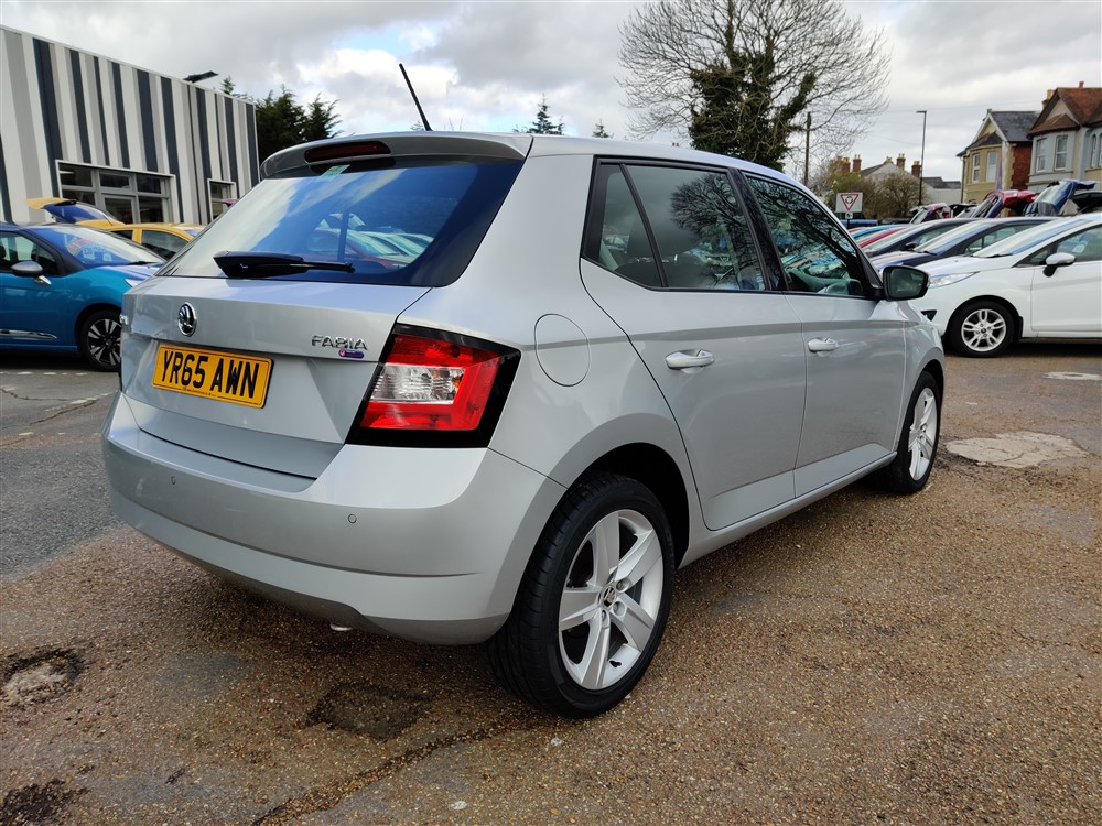 Car For Sale Skoda Fabia - YR65AWN Sixers Group Image #2