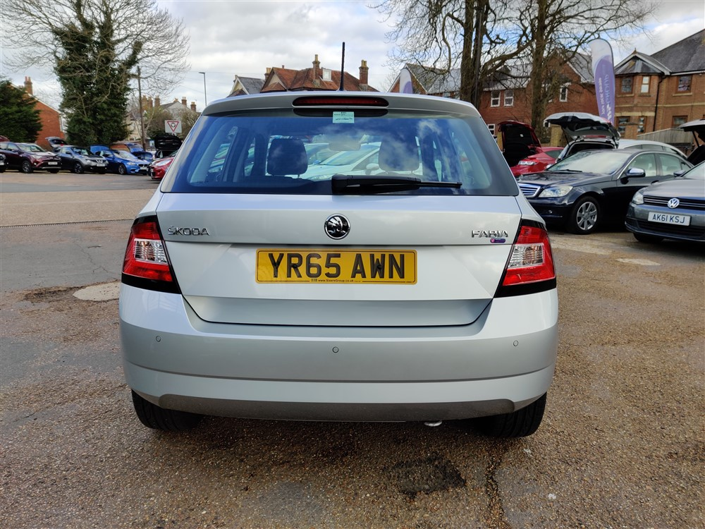 Car For Sale Skoda Fabia - YR65AWN Sixers Group Image #3