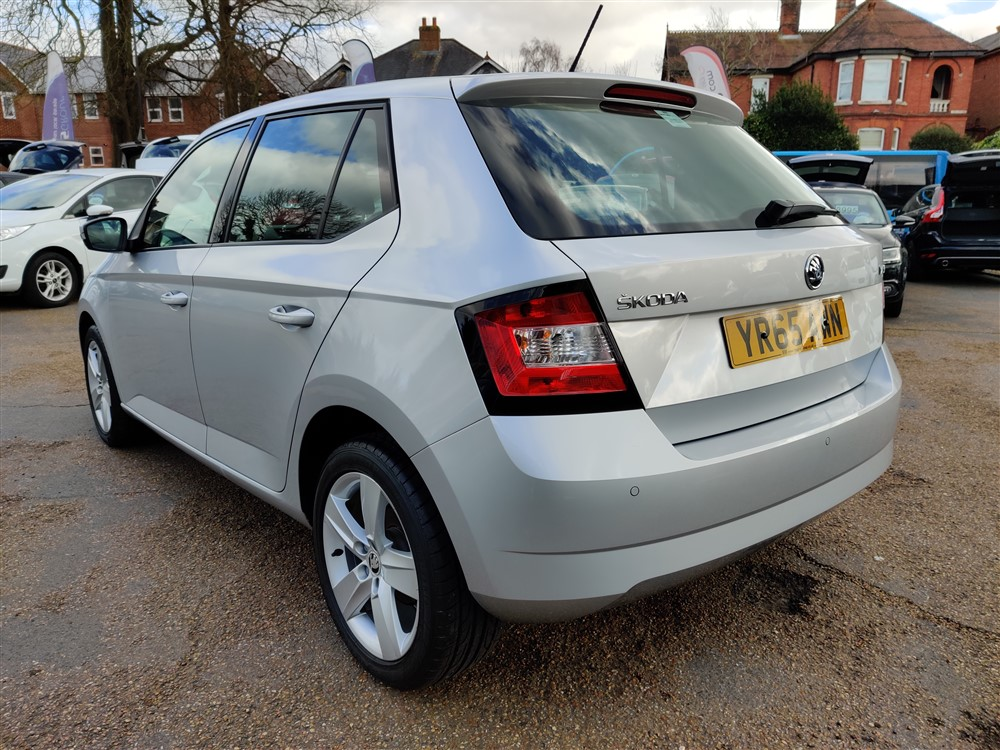 Car For Sale Skoda Fabia - YR65AWN Sixers Group Image #4