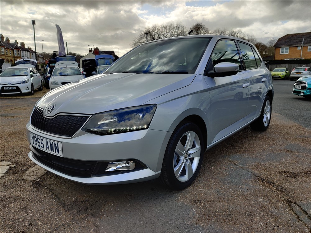 Car For Sale Skoda Fabia - YR65AWN Sixers Group Image #6