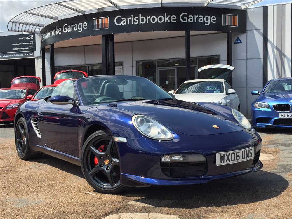 Image of Porsche Boxster Used Car For Sale on the Isle of Wight for Vehicle 7345