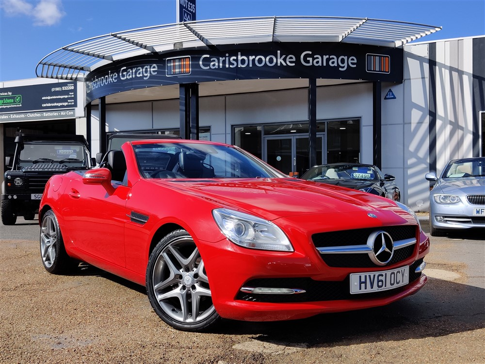 Car For Sale Mercedes SLK 200 - HV61OCY Sixers Group Image #0