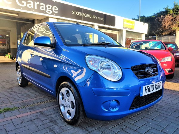 Image of Kia Picanto Used Car For Sale on the Isle of Wight for Vehicle 7375