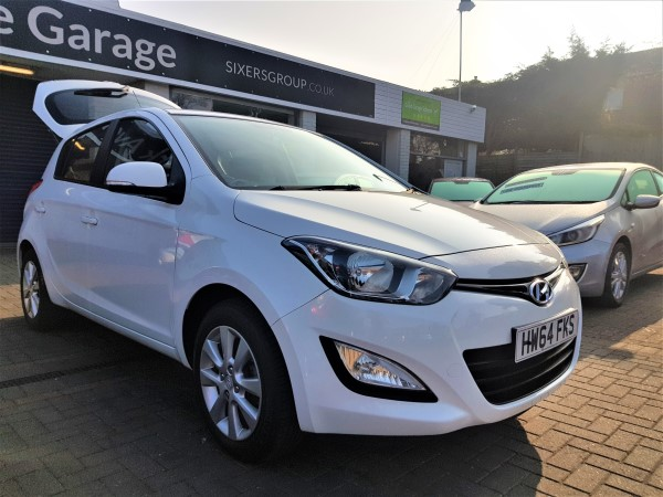 Image of Hyundai i-20 Used Car For Sale on the Isle of Wight for Vehicle 7408