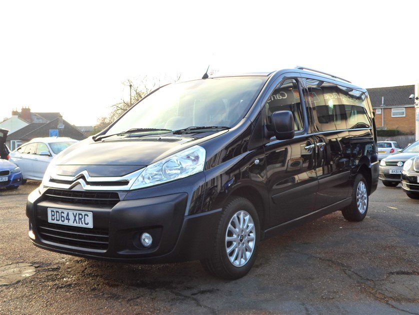 Image of Citroen Dispatch Used Car For Sale on the Isle of Wight for Vehicle 7409