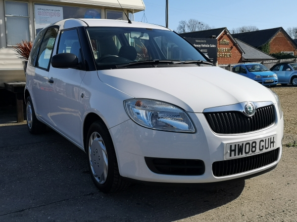 Image of Skoda Roomster 1 Used Car For Sale on the Isle of Wight for Vehicle 7414