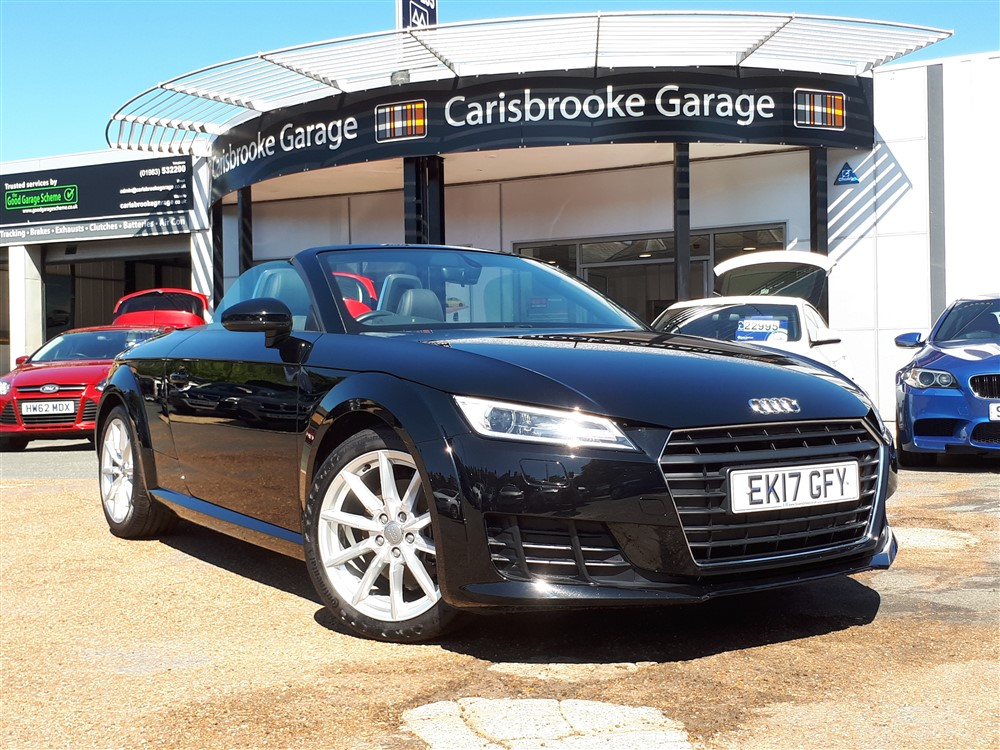 Image of Audi TT Roadster Used Car For Sale on the Isle of Wight for Vehicle 7420