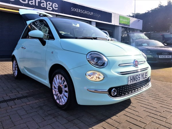 Image of Fiat 500 Used Car For Sale on the Isle of Wight for Vehicle 7422