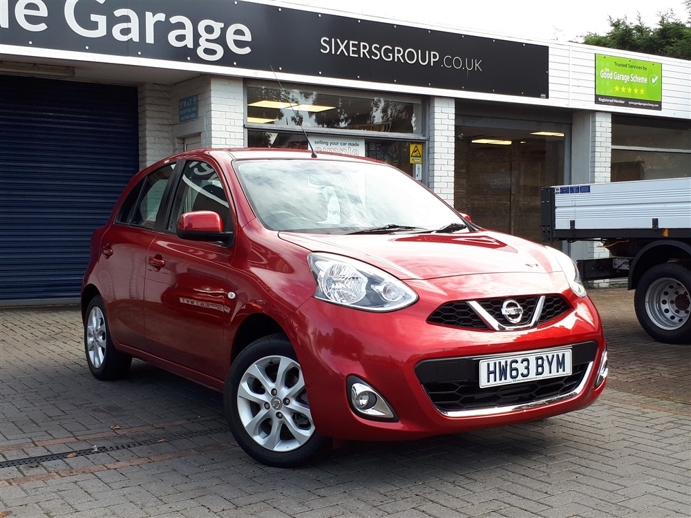 Image of Nissan Micra Used Car For Sale on the Isle of Wight for Vehicle 7485