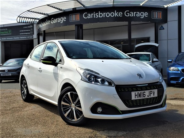 Image of Peugeot 208 Used Car For Sale on the Isle of Wight for Vehicle 7487