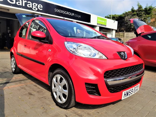 Image of Peugeot 107 Used Car For Sale on the Isle of Wight for Vehicle 7492