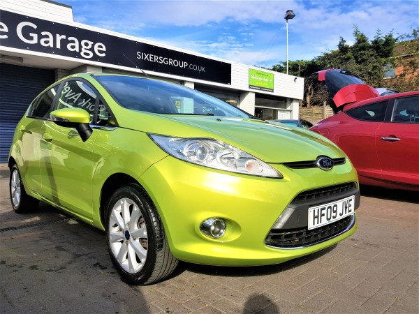 Image of Ford Fiesta Used Car For Sale on the Isle of Wight for Vehicle 7496