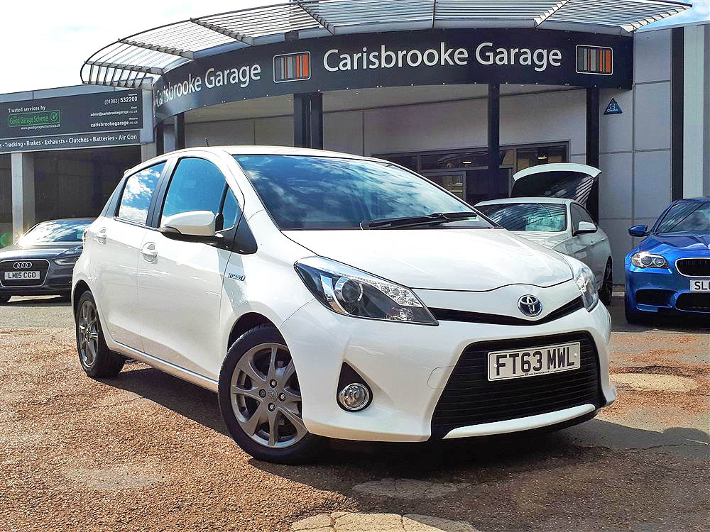 Image of Toyota Yaris Used Car For Sale on the Isle of Wight for Vehicle 7508