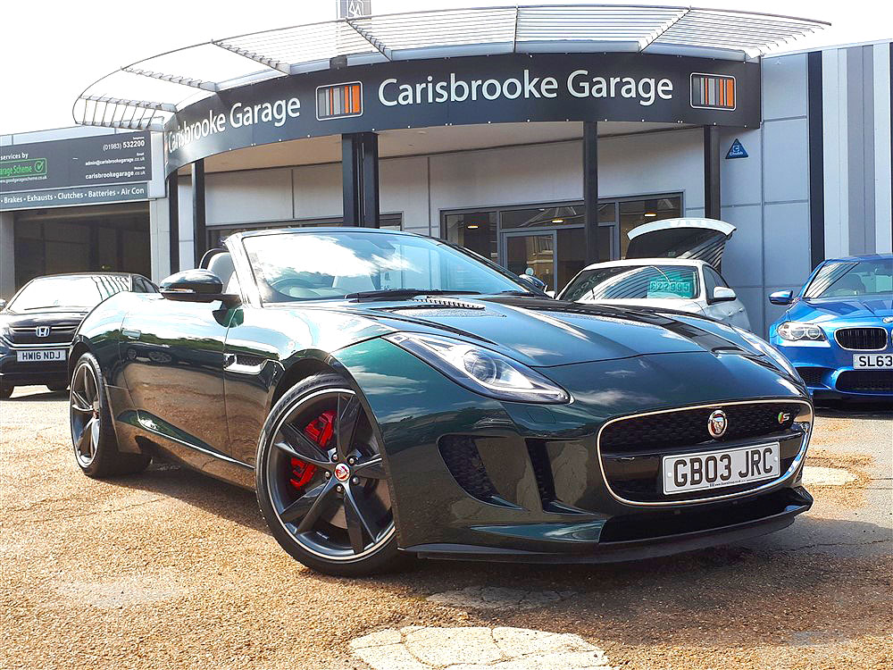 Image of Jaguar F-Type Used Car For Sale on the Isle of Wight for Vehicle 7512