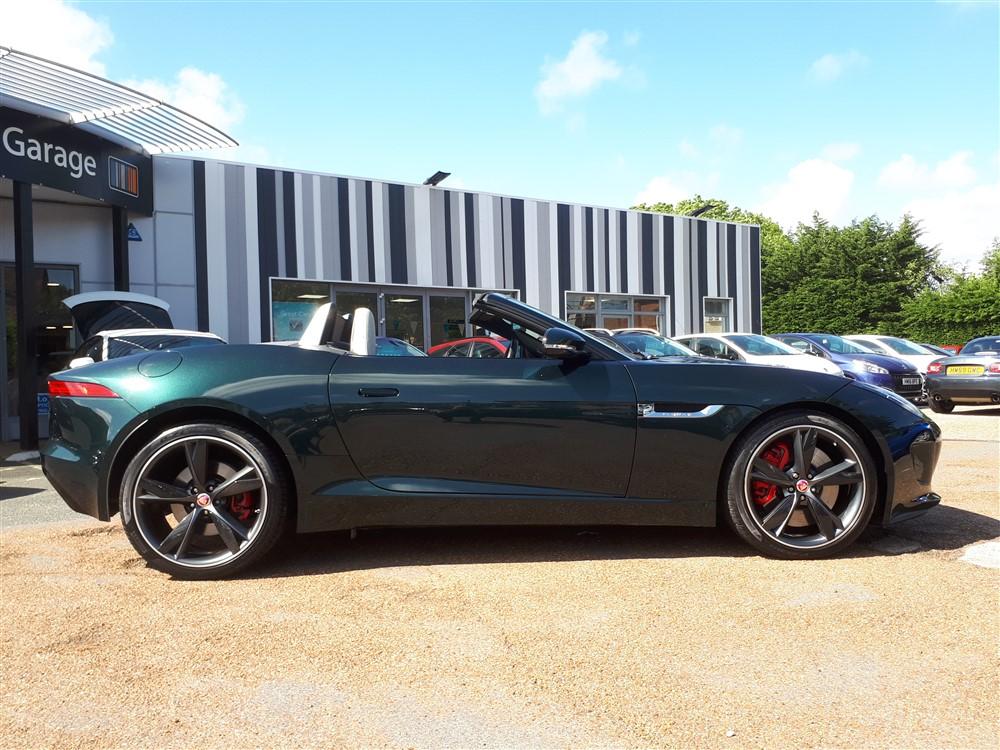 Car For Sale Jaguar F-Type - GB03JRC Sixers Group Image #1