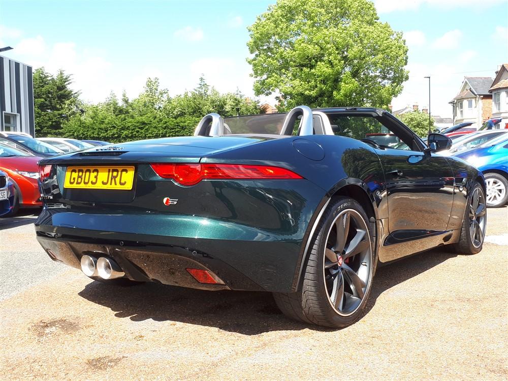 Car For Sale Jaguar F-Type - GB03JRC Sixers Group Image #2