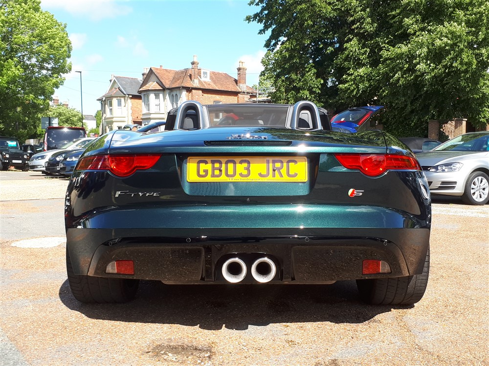 Car For Sale Jaguar F-Type - GB03JRC Sixers Group Image #3