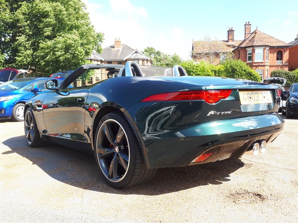 Car For Sale Jaguar F-Type - GB03JRC Sixers Group Image #4