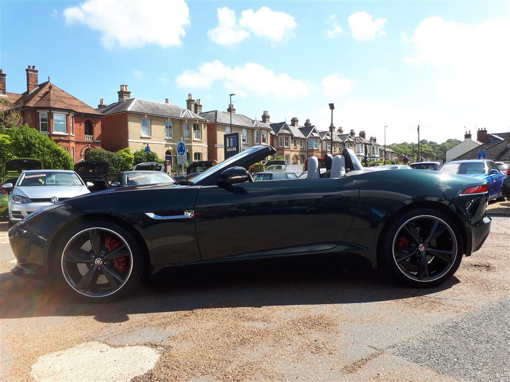 Car For Sale Jaguar F-Type - GB03JRC Sixers Group Image #5