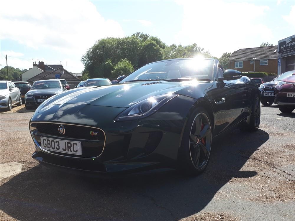 Car For Sale Jaguar F-Type - GB03JRC Sixers Group Image #6
