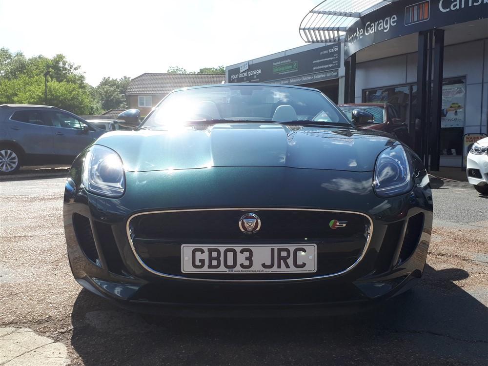 Car For Sale Jaguar F-Type - GB03JRC Sixers Group Image #7