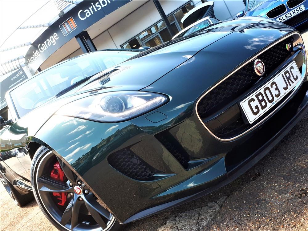 Car For Sale Jaguar F-Type - GB03JRC Sixers Group Image #8