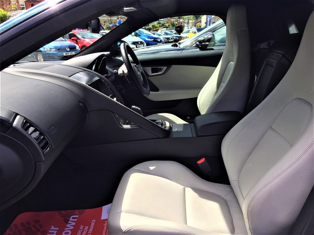 Car For Sale Jaguar F-Type - GB03JRC Sixers Group Image #12