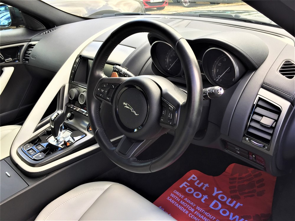 Car For Sale Jaguar F-Type - GB03JRC Sixers Group Image #13