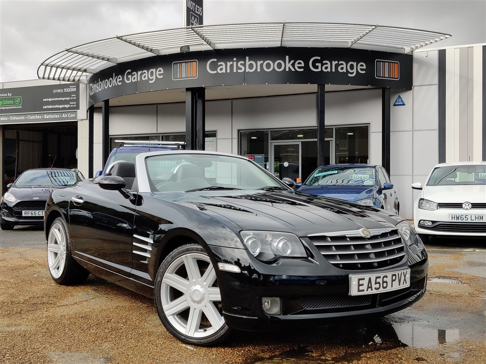Image of Chrysler Crossfire Used Car For Sale on the Isle of Wight for Vehicle 7530