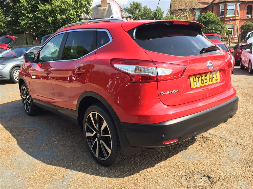 Image of Nissan Qashqai Used Car For Sale on the Isle of Wight for Vehicle 7550