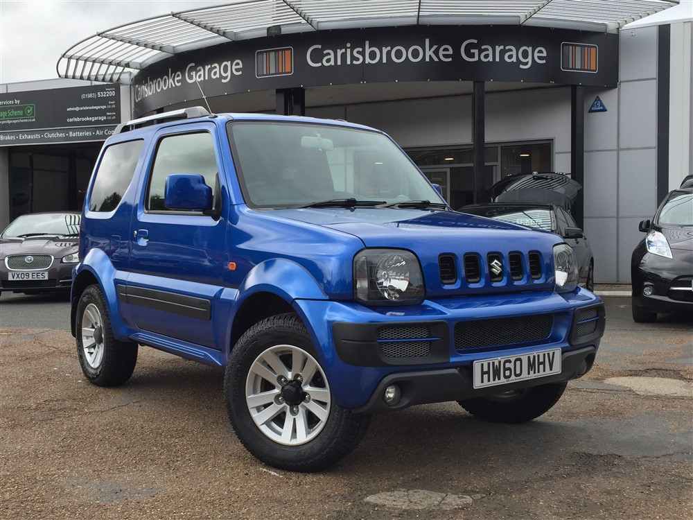 Image of Suzuki Jimny Used Car For Sale on the Isle of Wight for Vehicle 7552