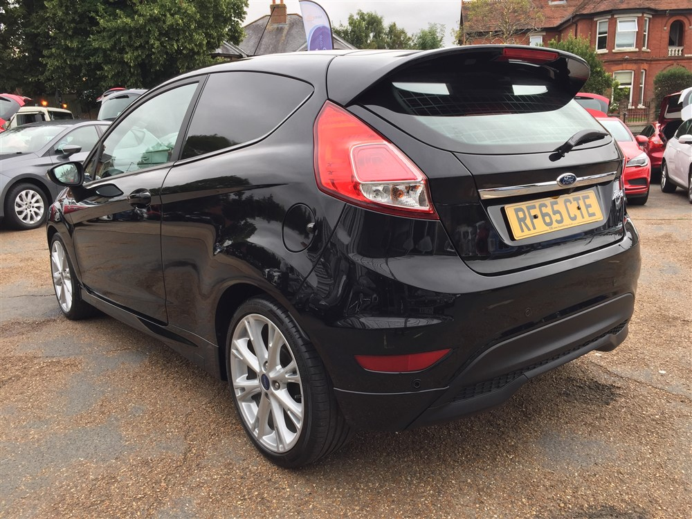 Image of Ford Fiesta Sport Van Used Car For Sale on the Isle of Wight for Vehicle 7559